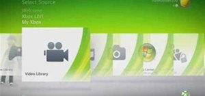 Kinect Xbox 360 Dashboard Preview