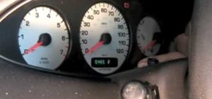 Reset the speedometer on a Chrysler