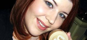 Apply Maybelline Smooth Mousse foundation evenly