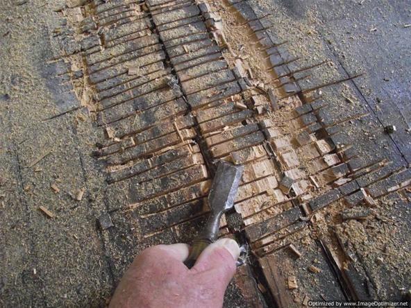 Laminate flooring, floor preparation