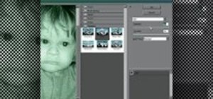 Create a night vision effect in Photoshop