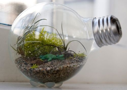 DIY Impossible Light Bulb, Plus 6 More Ways to Repurpose Burned Out Bulbs
