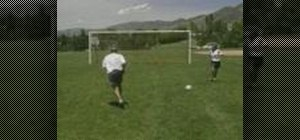 Practice Wall Pass shooting soccer drills