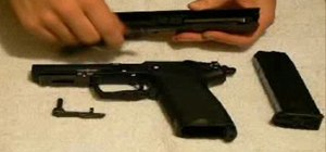 Field strip and reassemble the HK USP45 pistol