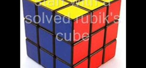 Master Rubik's Cube tricks, or patterns if you prefer