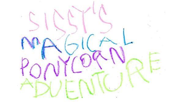 5-Year-Old Video Game Designer Friggin' Loves Ponycorns