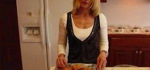 Prepare BBQ chicken breasts