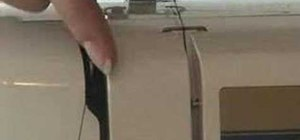Use tips for threading a sewing machine