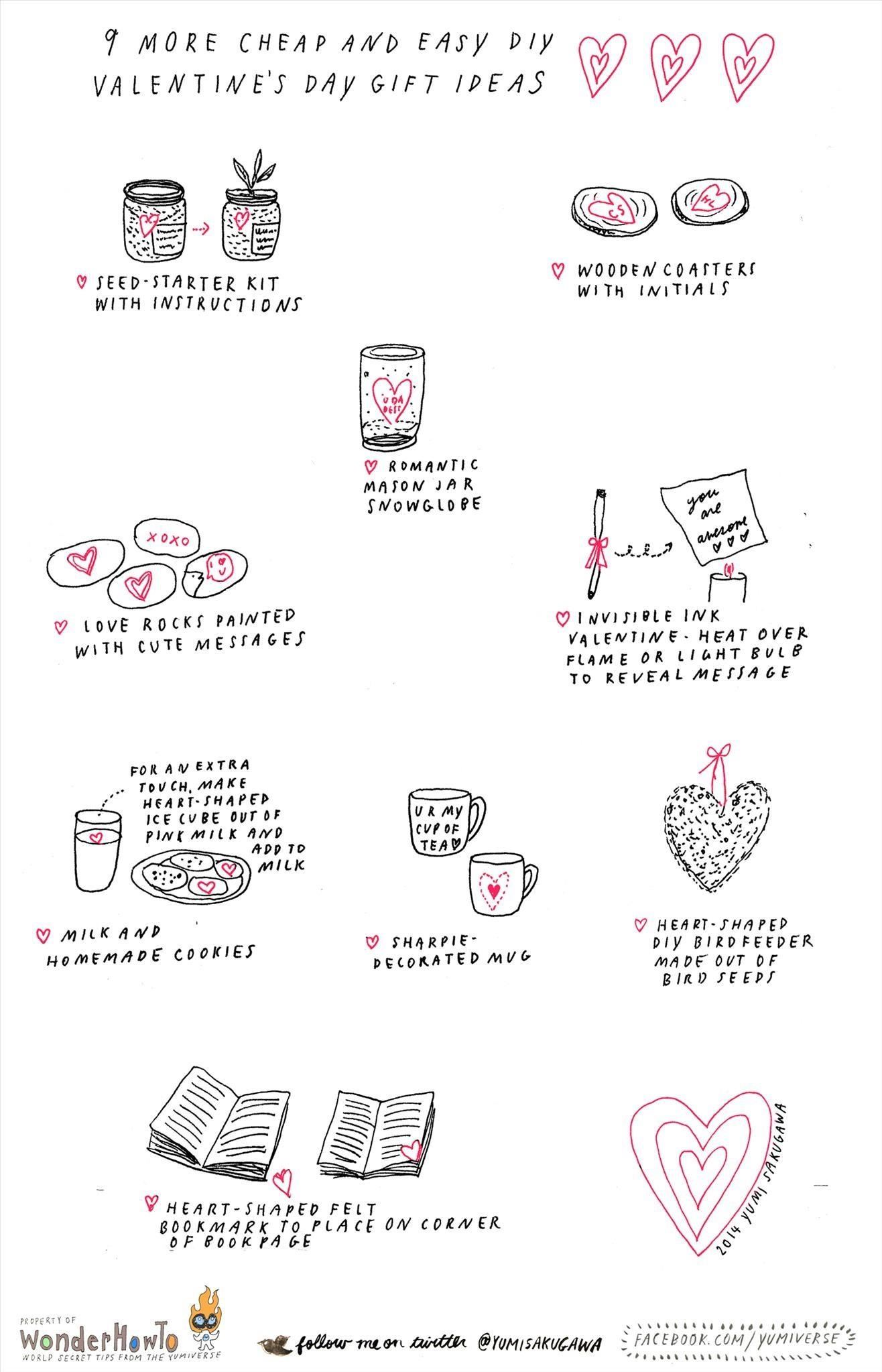 9 More Cheap & Easy DIY Gift Ideas for Valentine's Day