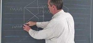 Draw a hypercube