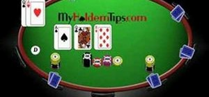 Play a loose game in Texas Hold'em