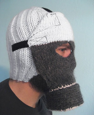 Crochet Gas Mask