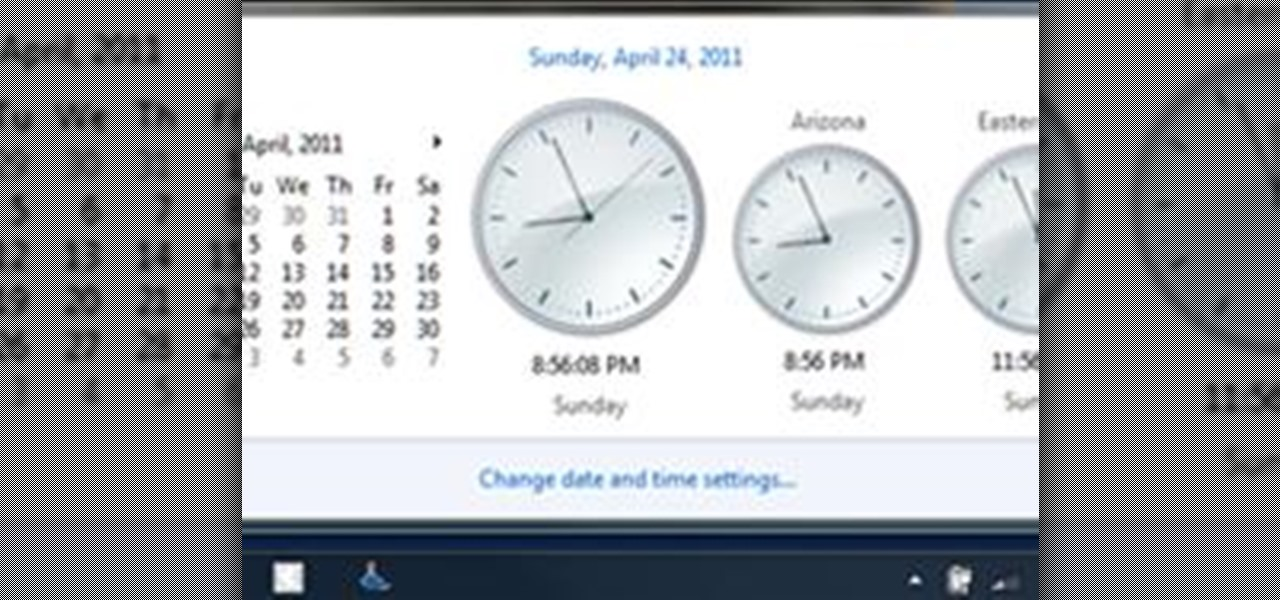 How to Add Multiple Clocks to the Windows 7 System Tray ...