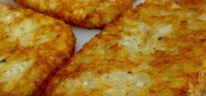 Make hash browns with tomatoes