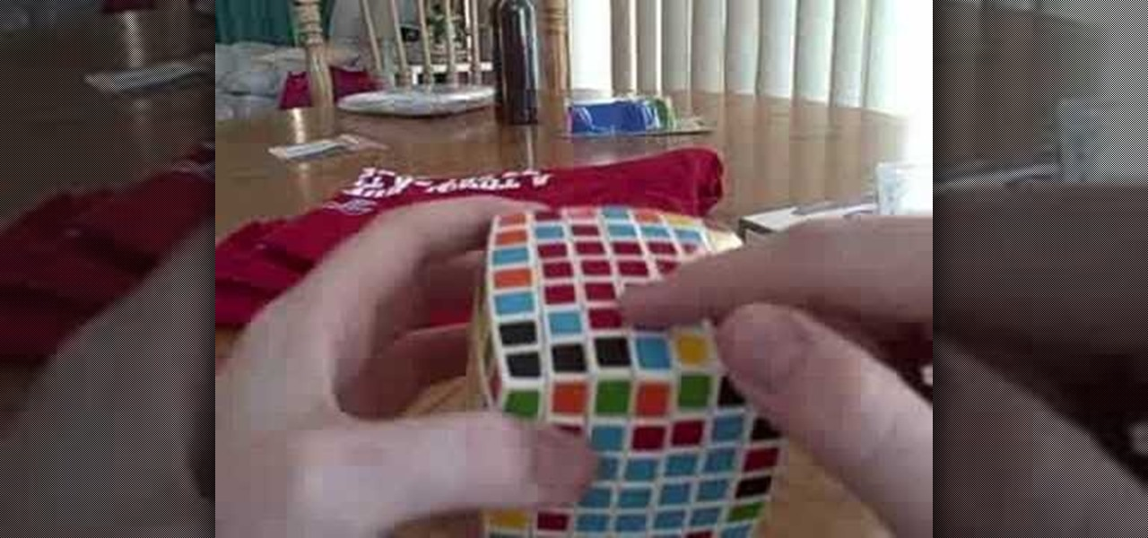 How to Solve the last two centers on the V-Cube 7 puzzle