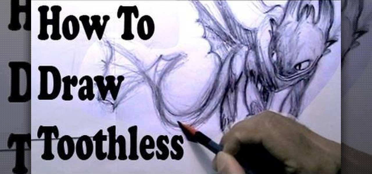 How to Draw Toothless From