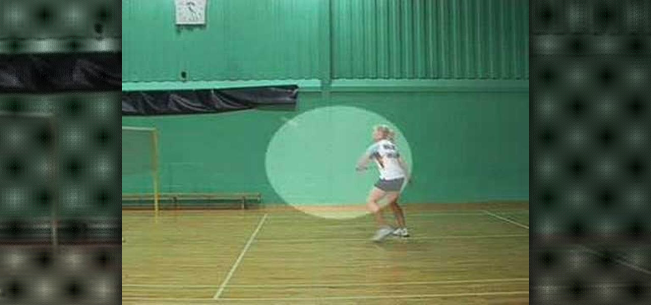 Types of Shots in Badminton Backhand Shot in Badminton