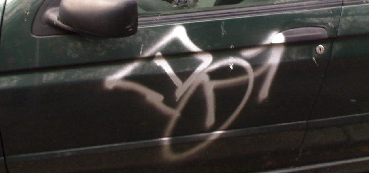 Remove Spray Paint After Your Car Gets Tagged