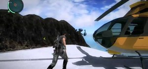"Discover ""Pie Island"" in Just Cause 2"