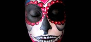 Do Day of the Dead sugar skull makeup