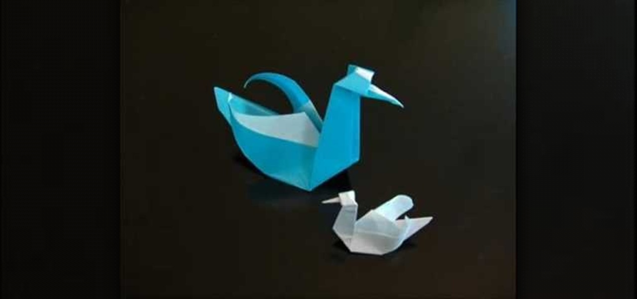 How To Make A Beautiful Origami Paper Swan