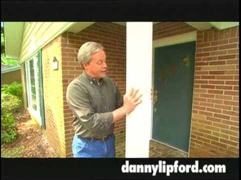 Replace exterior home columns with fiber glass columns