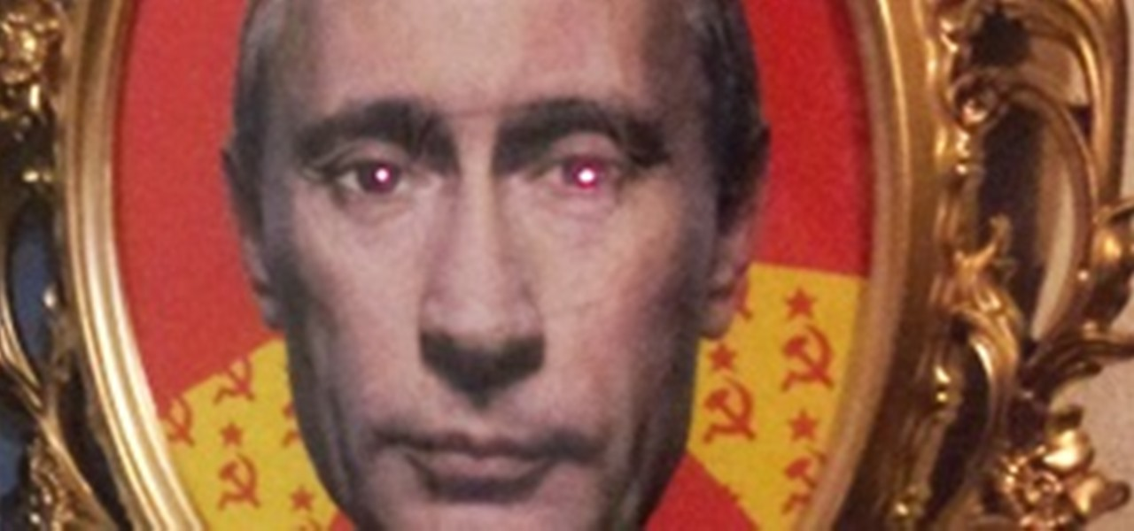 Make Your Own Creepy 'Puta Putin' to Guard Your Stuff (Or Scare Your Roommate)