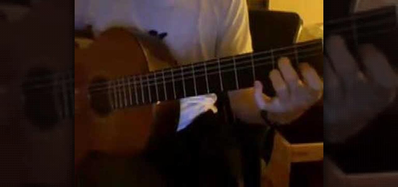 How To Use Elliott Smith Style Milonga Flamenco Picking Acoustic