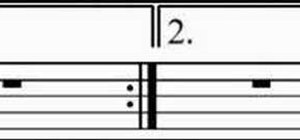 Play half notes on the violin