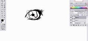 Draw a female eye using Photoshop