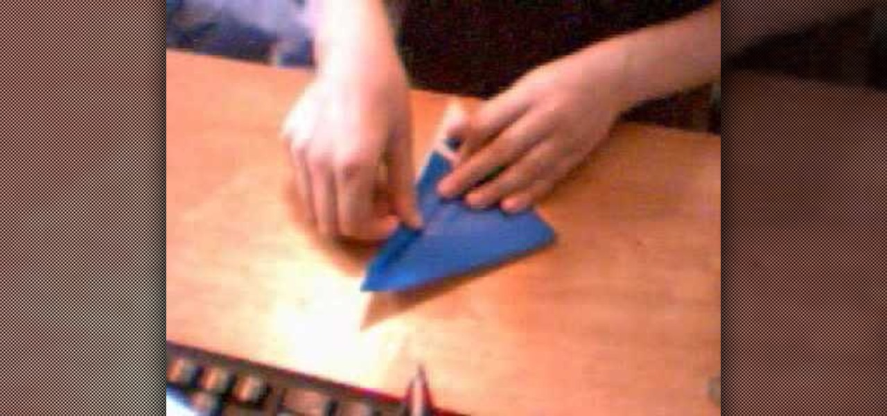 How To Fold An Origami Crane Beginners Level