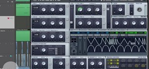 Create electronic music with the music editing program Massive