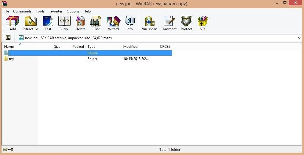 How to Lock Your Files in an Image....... Amazing Trick Ever