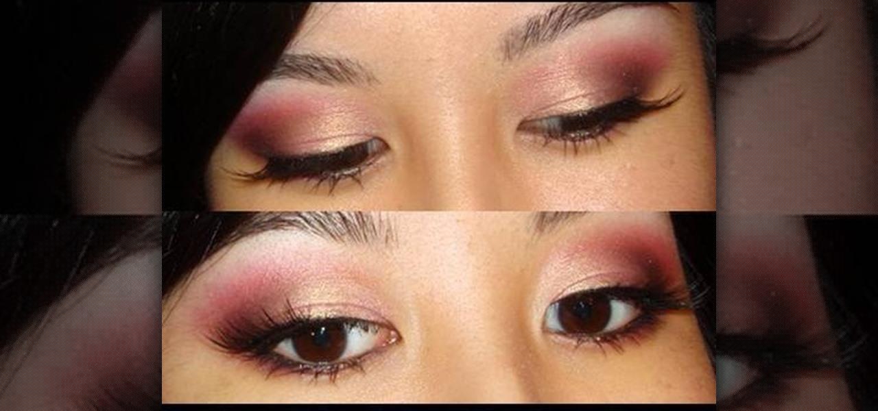 How to Create a pink summer night smokey eye makeup look Â« Makeup ...