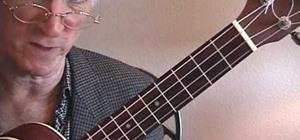 "Play ""Autumn Leaves"" by Joseph Kosma & Jacques Prévert on the ukulele"