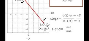 How to find the slope given 2 ordered pairs math wonderhowto how to find the slope of a line given 2 points ccuart Images