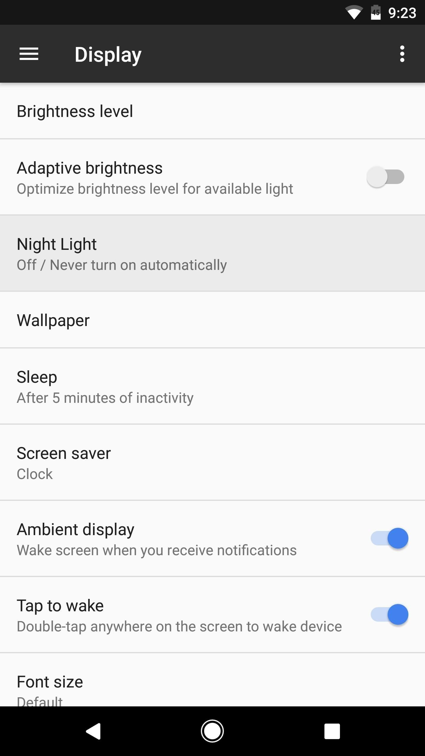 Get 'Night Light' & 'Moves' to Turn Your Nexus 6P into a Pixel
