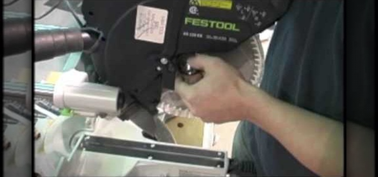 How to change the blade on a festool kapex compound miter saw how to change the blade on a festool kapex compound miter saw tools equipment wonderhowto keyboard keysfo Image collections
