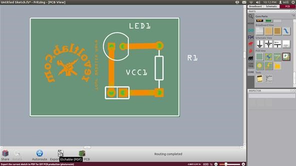 How to Create Practically Anything, Part 1: Fritzing Circuit Boards