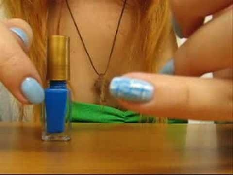 Create a chinese style manicure