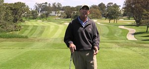 Chip shot like Tiger Woods in La Jolla