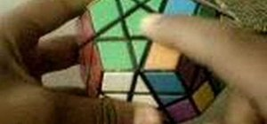 Solve the last layer of the Megaminx puzzle