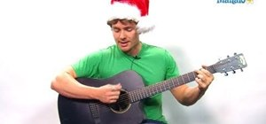 "Play ""O Holy Night"" on guitar"
