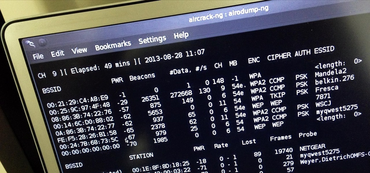 Cracking WPA2-PSK Passwords with Cowpatty