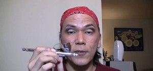 Airbrush eye liner