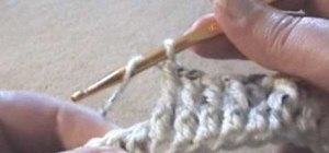Crochet a cable cross over stitch