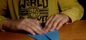 Fold an easy origami dragon