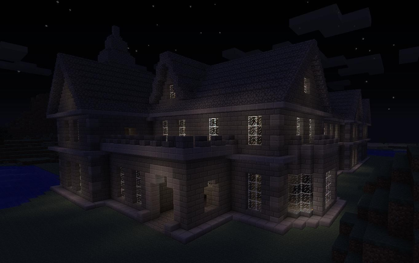Mount Falcon Manor House in Minecraft