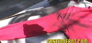 Make a Star Trek Red Shirt costume for Halloween or a Star Trek event