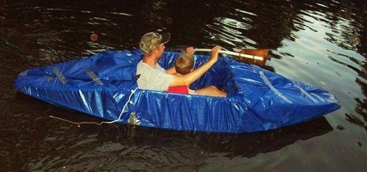 Build a Redneck Kayak Out of PVC and Duct Tape